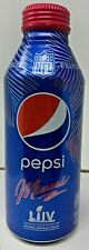 Pepsi Limited Edition 2020 NFL Super Bowl LIV Miami Bottle 16OZ NEW *Sealed*