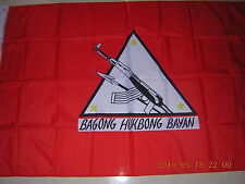Flag of the The New People's Army NPA Bagong Hukbong Bayan Philippines Ensign