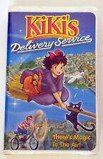 Kiki's Delivery Serivce VHS Video Tape Hayao Miyazaki Clamshell Case 1989
