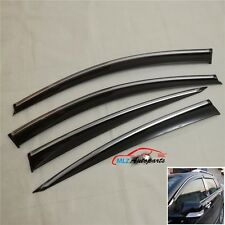 Window Sun Rain Visor Deflector Guard For Infiniti G25 G35 G37 Q40 2007 - 2015
