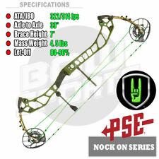 "NEW PSE NOCK ON® EVO NTN 33, 25""-30.5"" DL, 70 lbs, RH, Compound Bow  NOCKON"