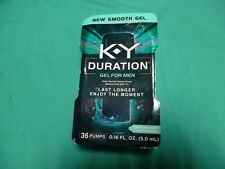 K-Y Duration Gel for Men - Last Longer  36 pumps 0.16 oz