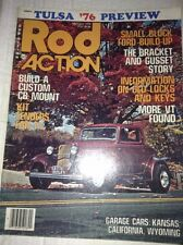 Rod Action Magazine Custom CB Mount Ford Build Up November 1976 040717NONRH