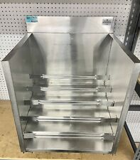 "Advance Tabco Crlr-24 Stainless Steel Liquor Display Cabinet 24"" x 21"" 30 Bottle"