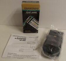 Quantaray Qaf 6600 Zoom Bounce Electronic Flash Unit Canon Minolta Nikon Sunpak