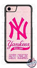 New York Yankees Pink Customize Phone Case Cover For iPhone Samsung LG Google