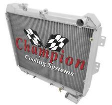 83 84 85 Mazda RX-7 Champion 3 Row Aluminum Radiator CC097