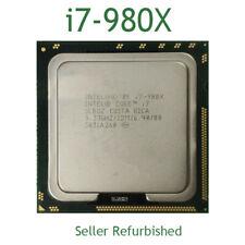Intel Core i7-980X CPU Extreme 3.33GHz LGA1366 Socket B 6core 12M Processor USED