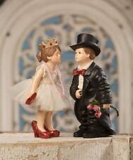 Bethany Lowe Valentine Kiss Couple Boy and Girl Wedding Dress Figures