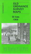 OLD ORDNANCE SURVEY MAP ST IVES 1906