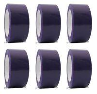 "2"" x 110 yd Purple 6 Rolls Packaging Packing Tape Carton Sealing - Free Shipping"