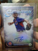 2017 Bowman Chrome Trevor Clifton Auto Autograph Sensation /99 Cubs DBacks