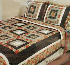 Handcrafted Bedding Set Quilt & Sham King Size