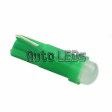 Green COB LED T5 Wedge 12v Interior LED Bulb
