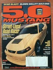 5.0 MUSTANG 2003 JAN - STEEDA Q400, WILD STREET MILL