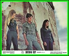 """PATRICIA GOZZI & JULIE DASSIN in """"Hung Up"""" Original Vint. COLOR LOBBY CARD 1969"""