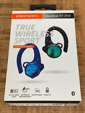 Plantronics BackBeat Fit 3150 True Wireless Sport Earbuds Black-Blue
