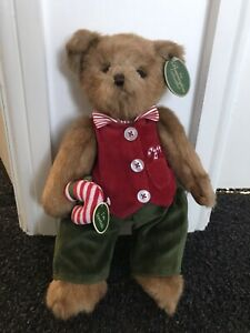 Bearington Bear Parker And Peppermint BNWT