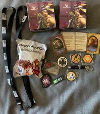 BlizzCon Rare Swag Box Lot (Hearthstone, Overwatch, Warcraft, Diablo, Blizzard)
