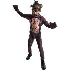 Child Nightmare Freddy Fazbear Costume size Medium 8-10