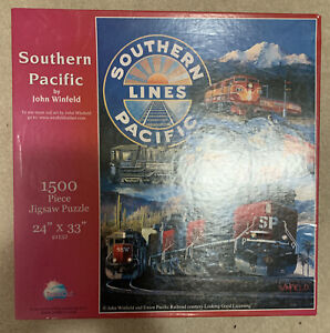 Trains Jigsaw Puzzle All 1,500 Pieces