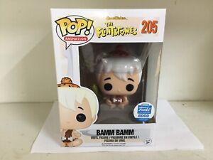 FUNKO POP! ANIMATION - THE FLINTSTONES #205 BAMM BAMM - ONLY 8,000 MADE - RARE