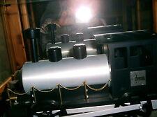 Modell Lokomotive -Handarbeit-  UNIKAT!!! incl. Bauplänen + kl. Eisenbahn