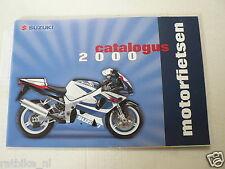S168 SUZUKI BROCHURE PROSPEKT 2000 ALL MODELS DUTCH 76 PAGES,RM250,DR-Z,SV