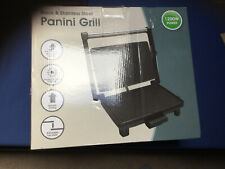 Dunelm Panini Grill Sliver  (New)