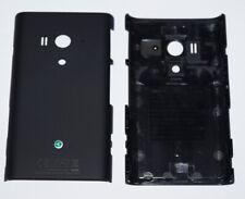 Original Sony xperia arco s LT26w Battery Cover, Battery Cover, Black, Black