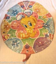 "Jumbo Foil Mylar Balloon 27"" Tweety Bird Easter Egg Gem Party Supply Decoration"