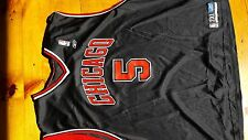 Jalen Rose Jersey Chicago Bulls jersey Michael Jordan jersey reebok Curry jersey