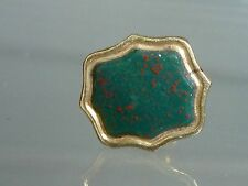Victorian intaglio seal Bloodstone fob or charm 15 ct Gold