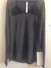 Lulu lemon Pace Pusher LS size 6