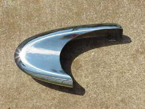1959 Dodge Coronet Custom Royal Lancer NOS MoPar Bumper END CAP Chryco