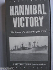 Hannibal Victory The Voyage of a Victory Ship in WWII 1945 VHS Color 61 Minutes