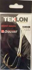 PORT GRATIS 2 HAMECON ASSISTE GRAUVELL 9000 TG 7/0 230 Lbs assist hook peche