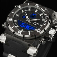 🎁INFANTRY Mens LED Digital Quartz Wrist Watch Chronograph Military Sport Rubber