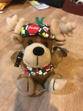 1998 New With Tags Coca Cola Moose Plush Stuffed Animal Collectible