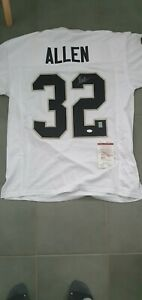 Marcus Allen autograped signed Raiders jersey