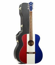 Recording King Bakersfield Buck Owens American Acoustic - Red White & Blue