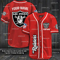 Personalized Las Vegas Raiders B Jersey Red XS-4XL