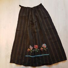 Flowers Embroidery Dress Folk Ethnic Traditional Bulgarian Apron