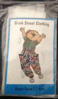 Childrens Pocket Pants Sewing Pattern 1-6X Birch Street Szs 4 & 5 Already Traced