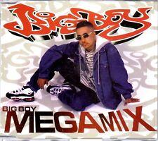 BIG BOY - MEGAMIX - CD SINGLES MIXES - LIKE NEW