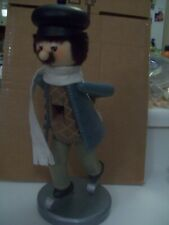"""ZIMS HEIRLOOM COLLECTIBLES NUTCRACKER """"ICE SKATER"""" 1999 LIMITED EDITION"""