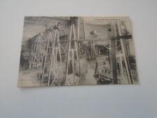"""CP  ANCIENNE  PARIS  """" ECOLE ELECTRICITE  BREGUET - SALLE DES MACHINES  """" 1919"""