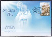 POLAND 2018  FDC  SC#  St. Father PIO