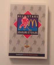 UPPER DECK 1992 ALL STARS MCDONALD'S COMPLETE SERIE +6 HOLO