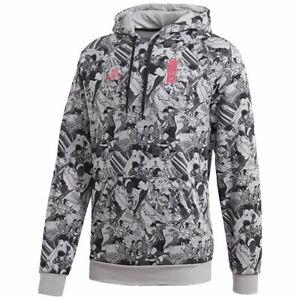CAPTAIN TSUBASA × adidas collaboration HOODIE Soccer Football Wear JAPAN NEW